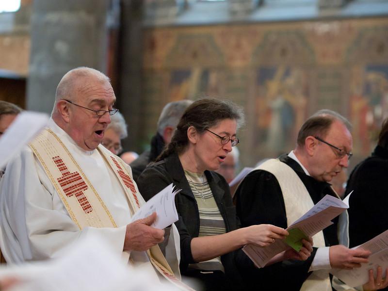 Driekerkenviering-voorgangers