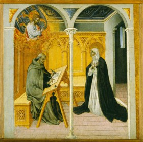 Giovanni_di_Paolo_Saint_Catherine_of_Siena_Dictating_Her_Dialogues_